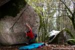Um dos únicos blocos que reuniu a unanimidade nas escolhas: Pinheiro Bravo, V10 na Pedra do Urso.