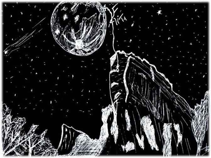 Recordações da Época Passada. A Lua de Zaratustra.